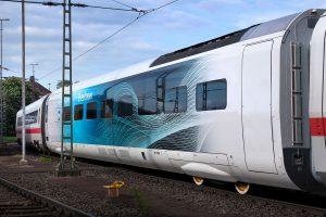 Testování vozu nové soupravy Siemens Velaro Novo. Foto: Siemens