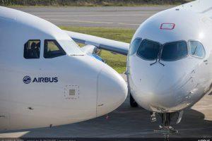 Airbus A320 a A220. Foto: Airbus