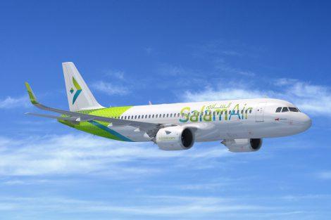 Ománský lowcost Salam Air objednal dalších šest airbusů A320neo. Foto: Airbus