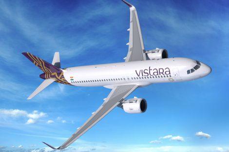 Indická společnost Vistara podepsala dohodu o společném záměru na koupi 13 Airbusů A320neo, dalších 37 pořídí od leasingových společností. Stroje pro indické vnitrostátní linky budou vybaveny motory Leap CFM. Foto: Airbus