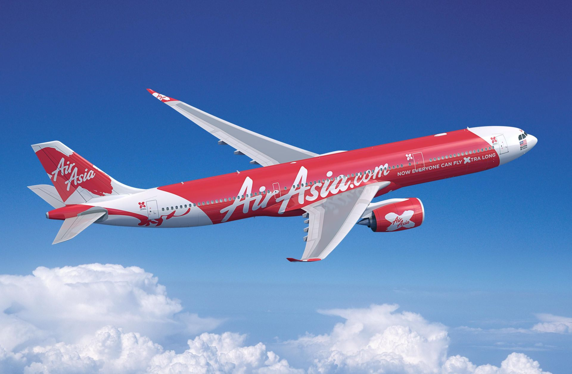 A330neo v nátěru Air Asia. Foto: Airbus