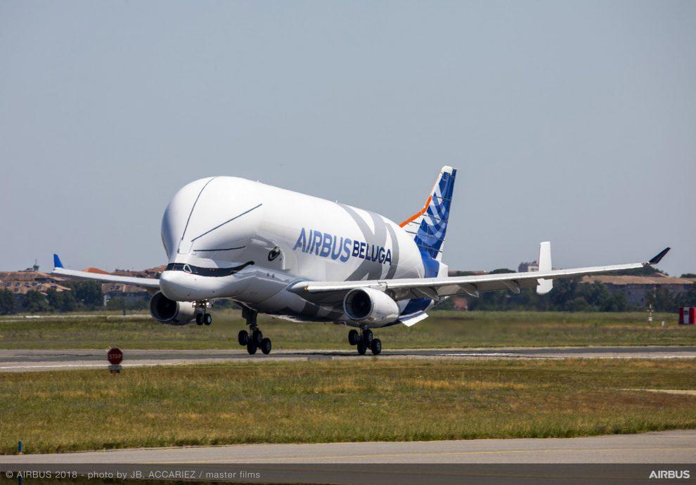 BelugaXL. Pramen: Airbus