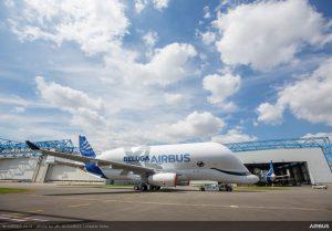 Airbus BelugaXL.Pramen: Airbus