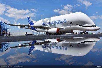 Airbus BelugaXL. Pramen: Airbus