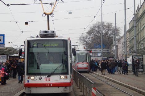 Tramvaje v Brně. Autor: Zdopravy.cz/Jan Šindelář
