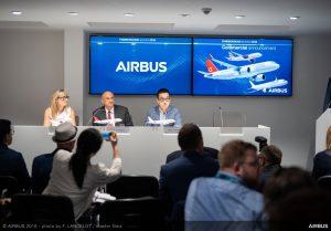 Goshawk Aviation Limited oznámil jako leasingová společnost i nákup 20 A320neo. Foto: Airbus