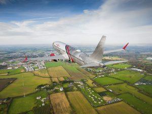 20 Boeingů 737 MAX objednala Farnborough International Airshow americká leasingová společnost Goshawk Aviation Limited.  Katalogová cena kontraktu je 2,3 miliardu. Poprvé tato leasingová společnost pořizuje letadlo přímo od výrobce. Foto: Boeing.