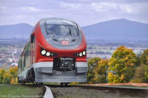 Pesa Link v barvách pro Deutsche Bahn. Foto: Pesa