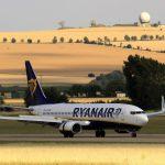 Boeing 737-800 společnosti Ryanair v Brně. Foto: Letiště Brno