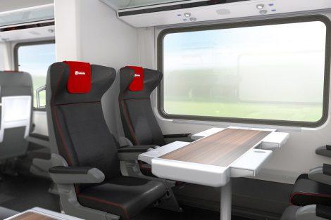 Nové vagony od Siemensu pro České dráhy, vizualizace. Pramen: České dráhy