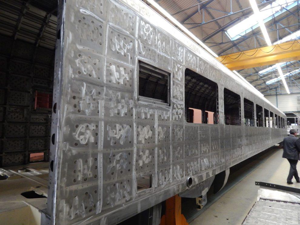 Stavba vagonů ve vídeňském závodě Siemensu. Autor: Zdopravy.cz/Jan Šindelář