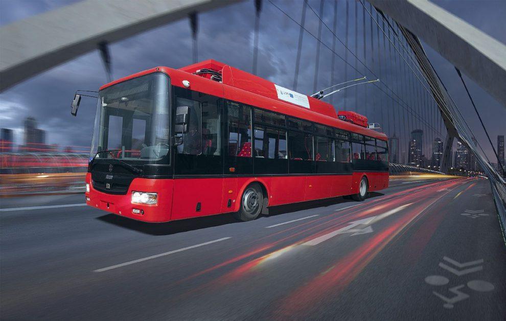 Trolejbus 30 Tr. Foto: Škoda Electric