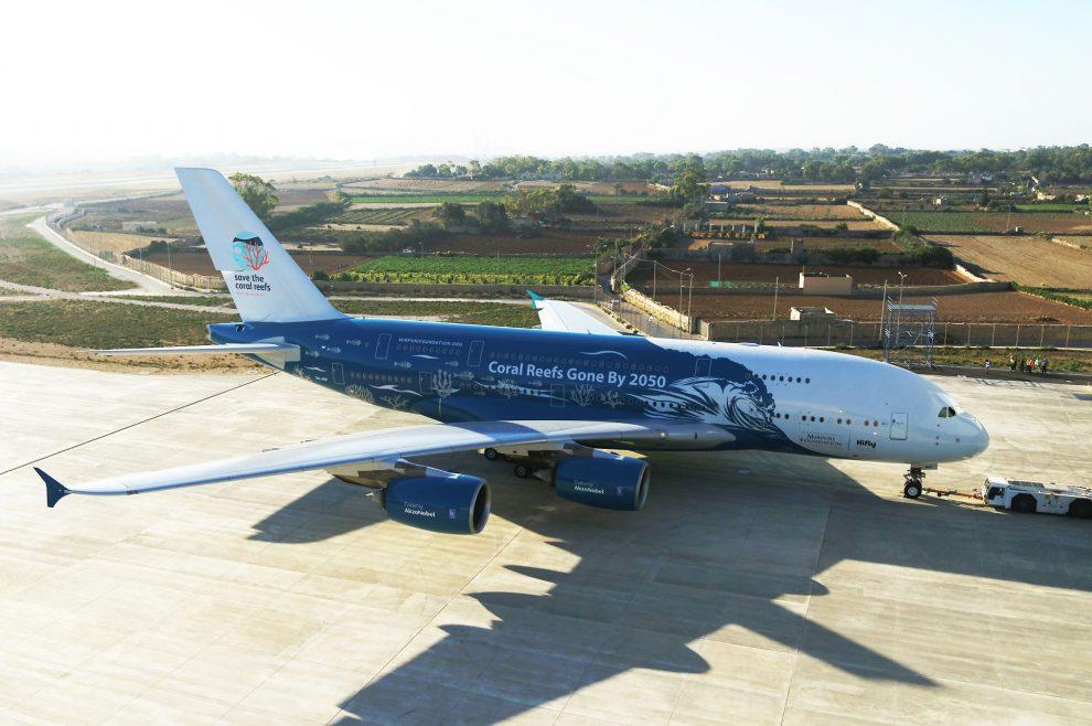 A380 společnosti Hi Fly. Foto: Hi Fly