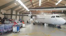 Letadlo ATR 72-500, které si ČSA pronajmou na tři roky. Foto: ČSA