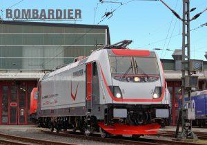 Nová lokomotiva Bombardier Traxx MS3. Foto: Bombardier