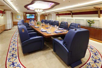 Interiér 747-8i pro katarskou královskou rodinu. Foto: Controller.com