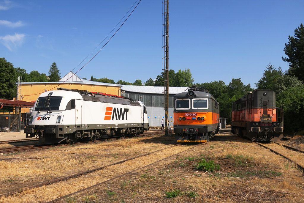 Nové depo AWT v Lovosicích. Autor: AWT