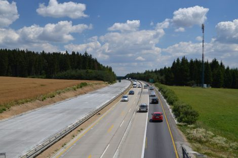 Modernizace D1. Foto: Ministerstvo dopravy