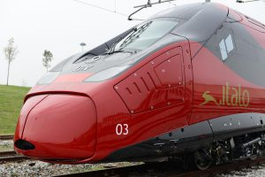 Pendolino EVO v baarvách italského dopravce Italo. Autor: Italo