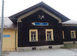 Železniční zastávka Lipka leží ve výšce 900 metrů nad mořem. Autor: Zdopravy.cz/Jan Šindelář