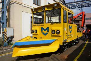 Drezína MUV 74 M-S pro metro v Sofii. Autor: CZ Loko