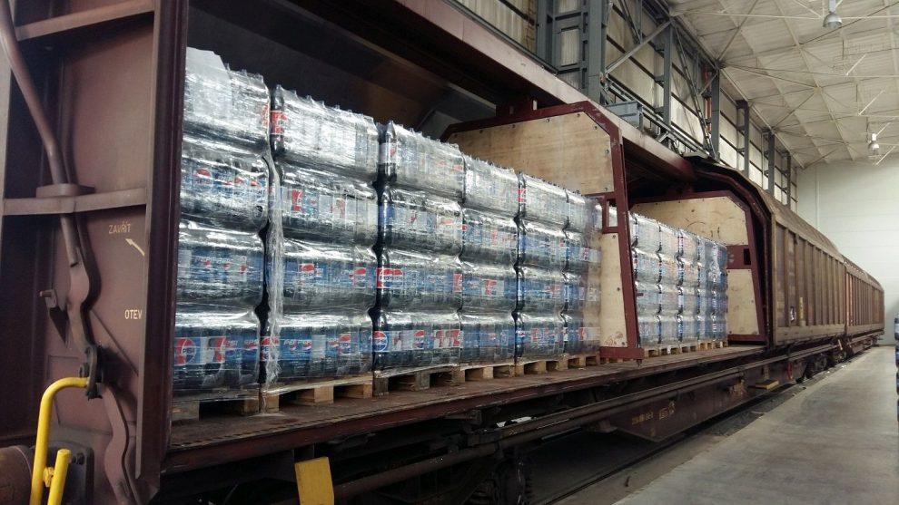 Nápojový vlak společnosti PepsiCo v Hostivaři. Autor: PepsiCo