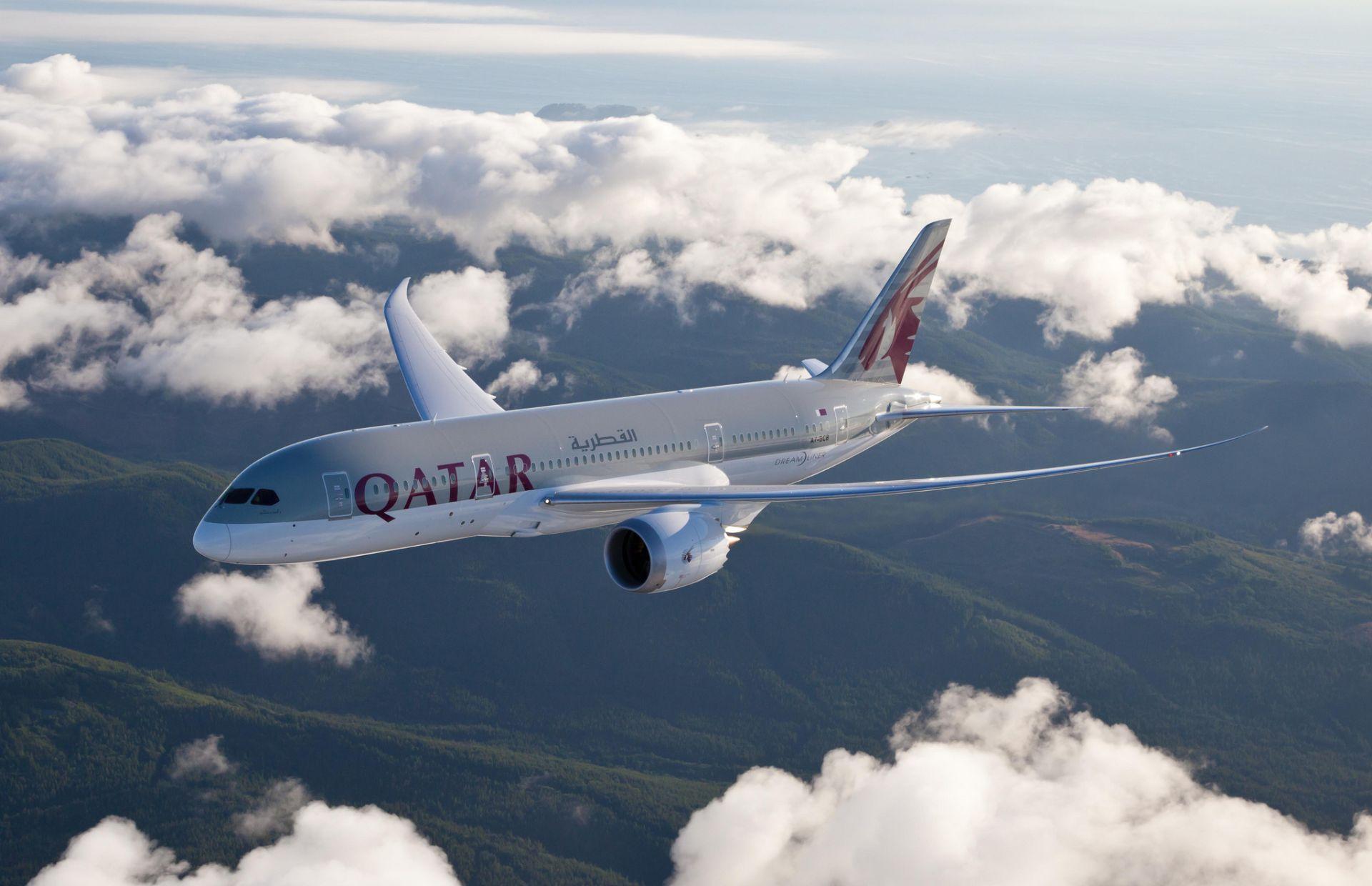 Boeing 787-8 Dreamliner. Foto: Qatar Airways