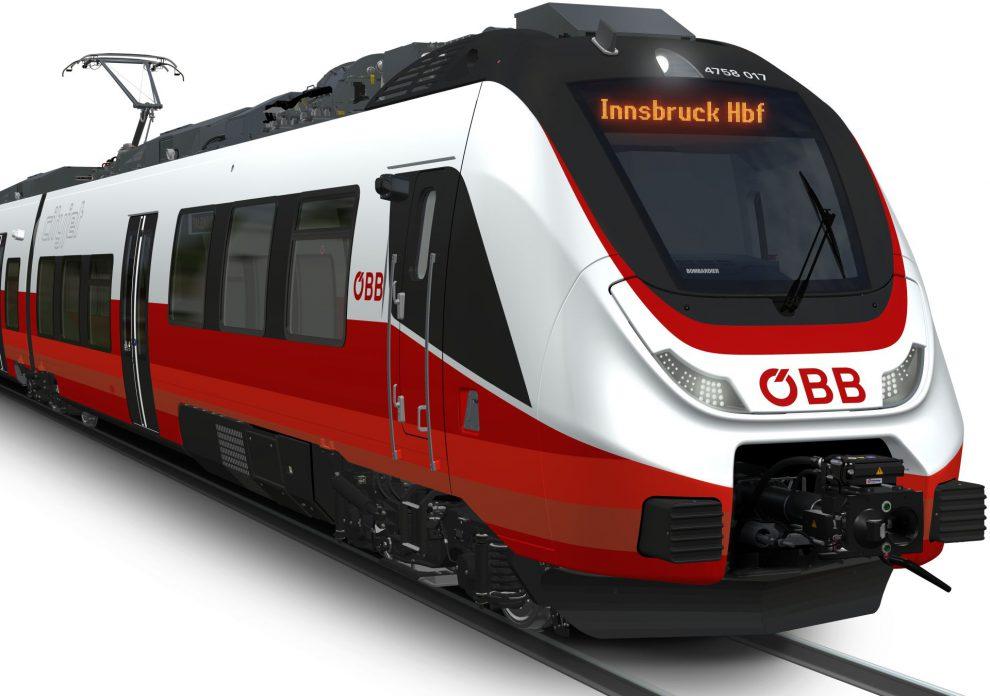 Bombardier vyhrál velkou zakázku na elektrické jednotky Talent 3 pro rakouské dráhy. Vozové skříně se svařují v České Lípě. Do soutěže Českých drah na podobné vlaky se ale firma nepřihlásí. Foto: Bombardier
