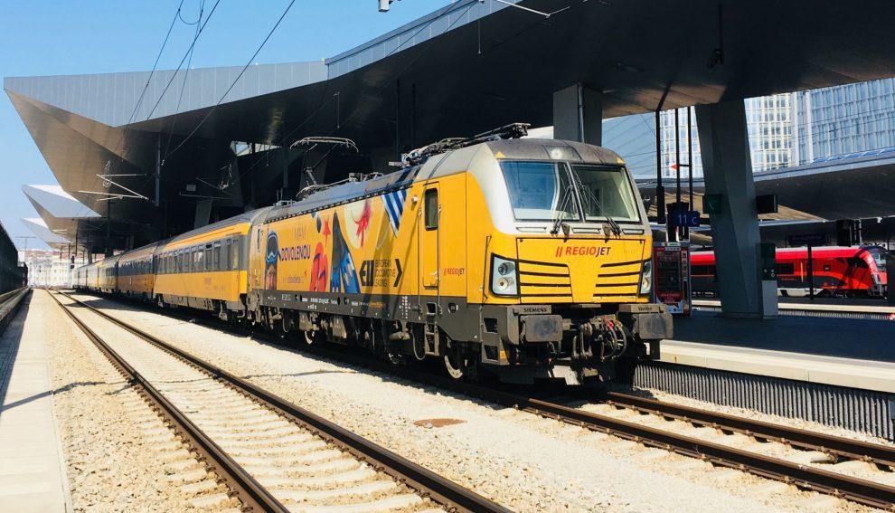 Vlak RegioJetu. Autor: RegioJet