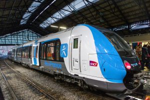 Jednotka Spacium od společnosti Bombardier pro pařížskou příměstskou dopravu. Foto: Bombardier
