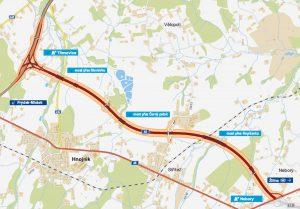 Trasa silnice I/68 Třanovice - Nebory. Foto: ŘSD