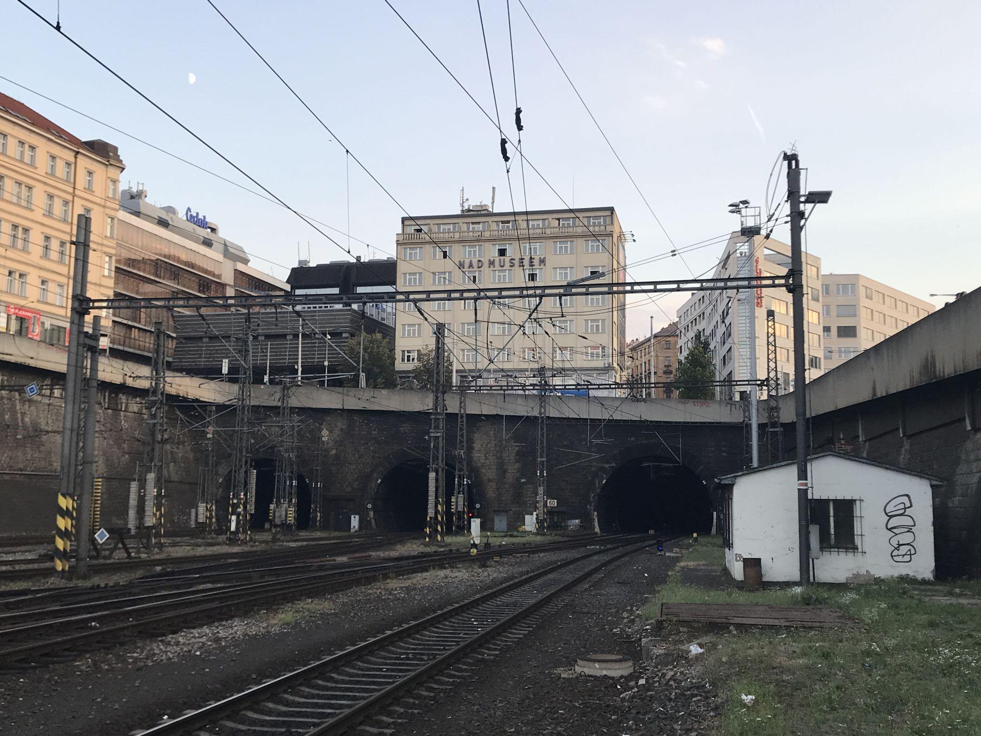 Severní portál vinohradských tunelů. Foto: Josef Petrák