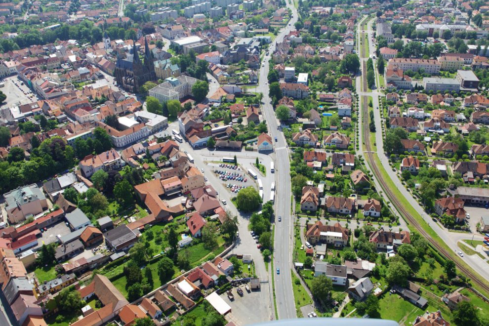 Průtah silnice I/35 Vysokým Mýtem. Foto: www.vysoke-myto.cz