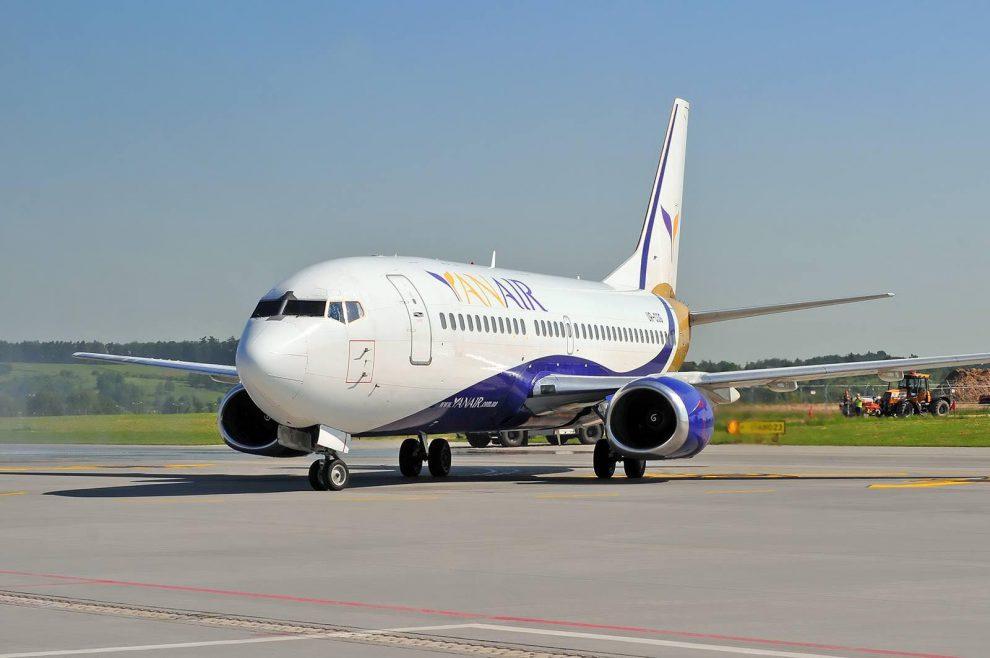 Boeing 737-400 společnosti Yan Air. Foto: Yan Air
