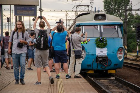 Poslední den provozu jednotky 451 v Praze. Foto: Juraj Kováč
