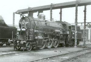 Parní lokomotiva řady 365.0. Autor: Von Rainerhaufe - Reproduktion aus der Sammlung von Matthias Hengst, Bild-by, https://de.wikipedia.org/w/index.php?curid=5498717