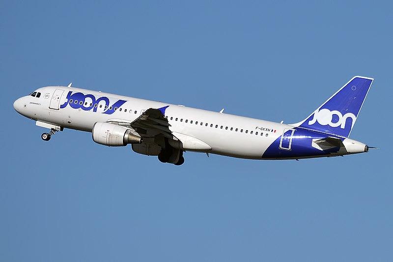 Airbus A320 společnosti Joon. Foto: Anna Zvereva / Wikimedia Commons