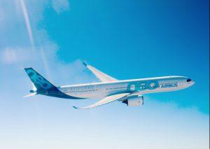 A330-900 během letu. Foto: Airbus