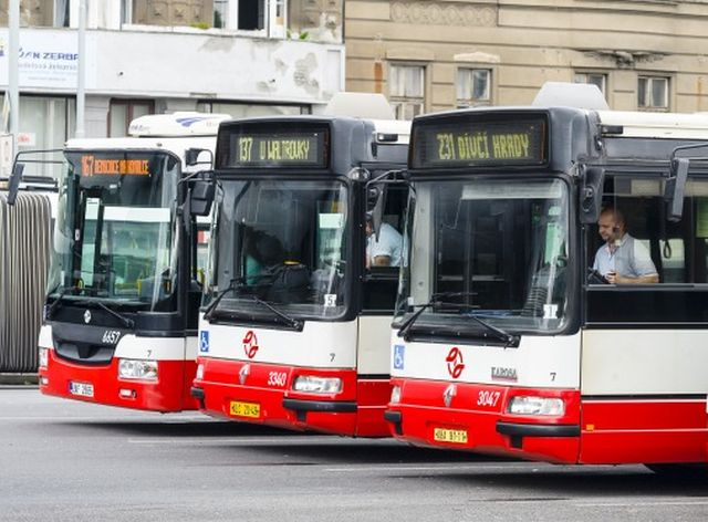 Autobusy DPP, ilustrační foto. Pramen: DPP