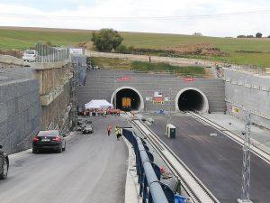 Budování tunelu Ejpovice na 3. koridoru, ilustrační foto. Pramen: FB Metrostav