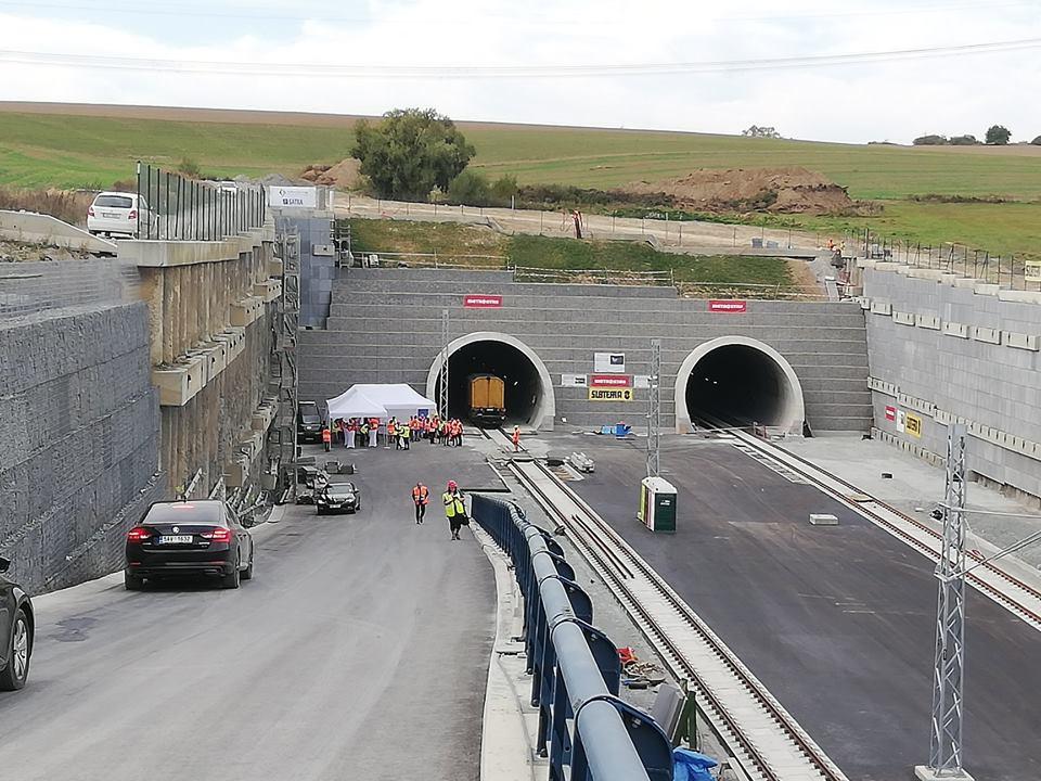 Budování tunelu Ejpovice vrcholí. Autor: FB Metrostav