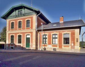 Opravné nádraží v Grygově. Autor: SŽDC