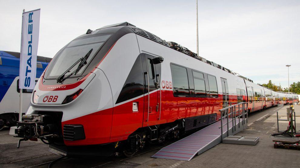 Innotrans 2018, Bombardier Talent 3 CityJet pro ÖBB, zdroj: ŽelPage/Juraj Kováč