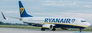 Letadlo Ryanairu na Letišti Pardubice. Autor: Letiště Pardubice