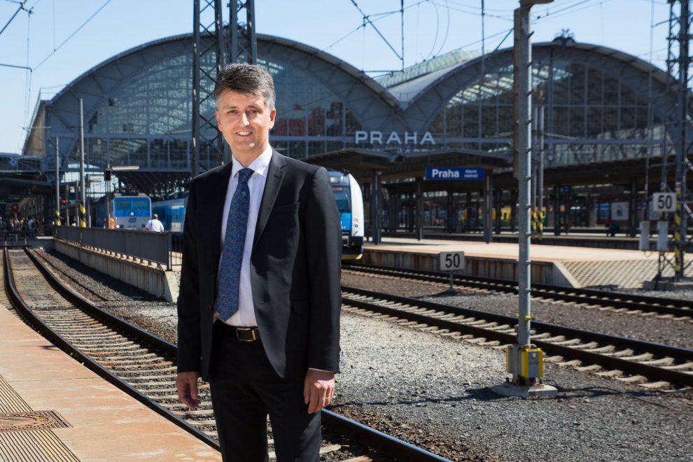 Generální ředitel Správy železnic Jiří Svoboda. Autor: Správa železnic