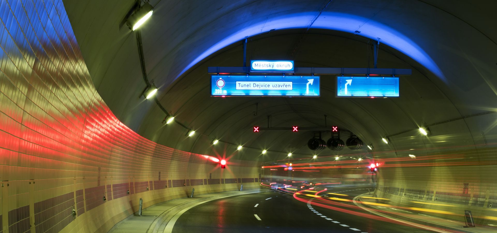Tunelový komplex Blanka. Foto: Satra