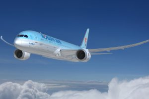 Boeing 787-9 v barvách Korean Air. Foto: Korean Air