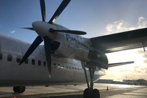 VLM Airlines létaly s pěticí strojů Fokker 50. Foto: VLM Airlines