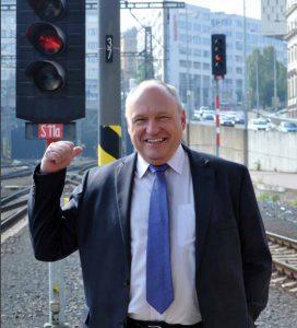 Náměstek pro řízení provozu SŽDC Josef Hendrych. Foto: SŽDC