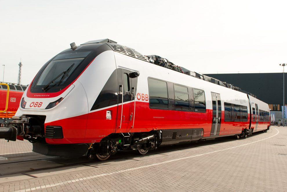 Innotrans 2018, Bombardier Talent 3 pro ÖBB, zdroj: Zdopravy.cz/Josef Petrák